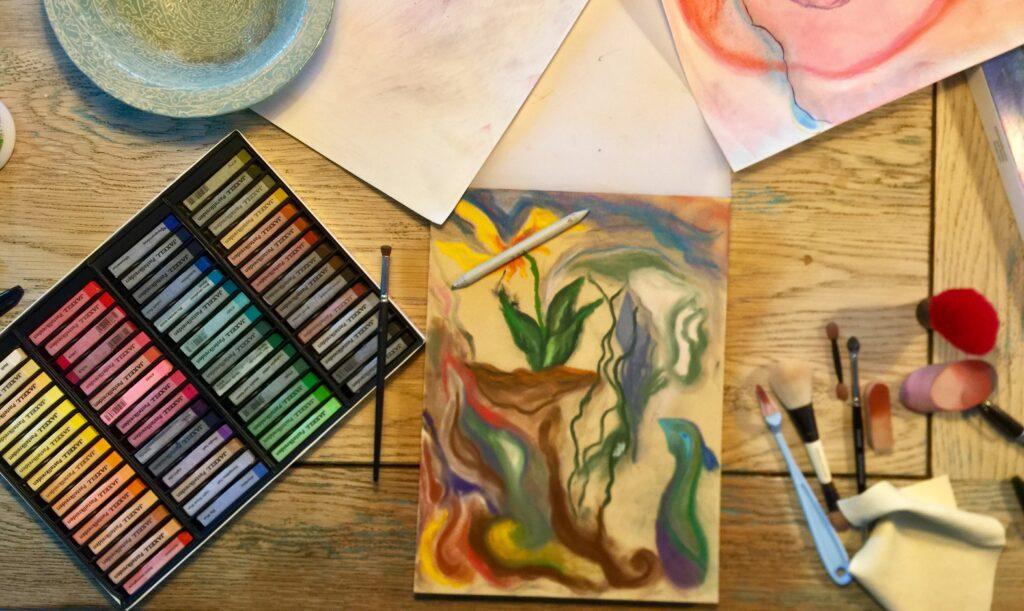 Materialer til kunstterapi