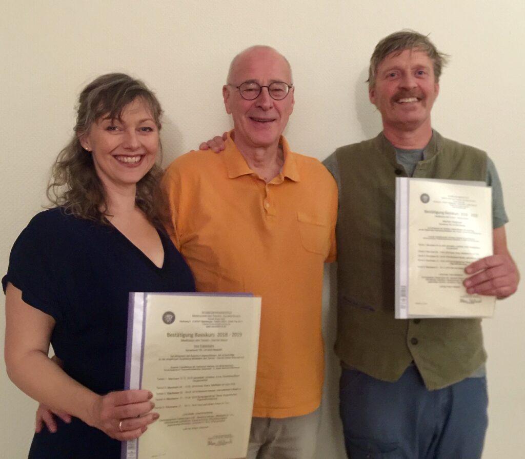 Diplom fra årsforløb med Sacred Dance